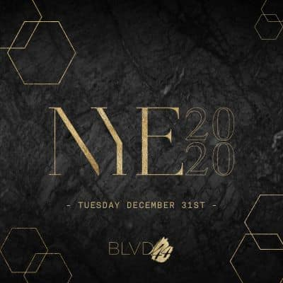 Montreal New Years Eve NYE Tickets Events Party Parties 2022 BLVD44