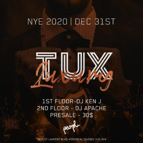 Montreal New Years Eve NYE Tickets Events Party Parties 2022 Peopl